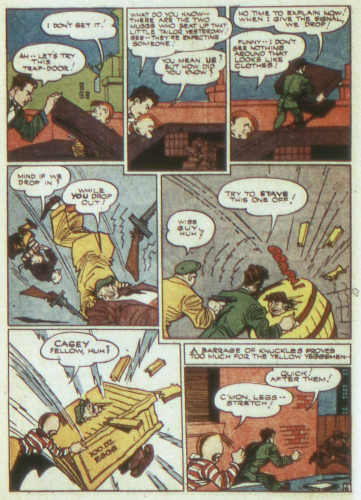 Read online Detective Comics (1937) comic -  Issue #82 - 22
