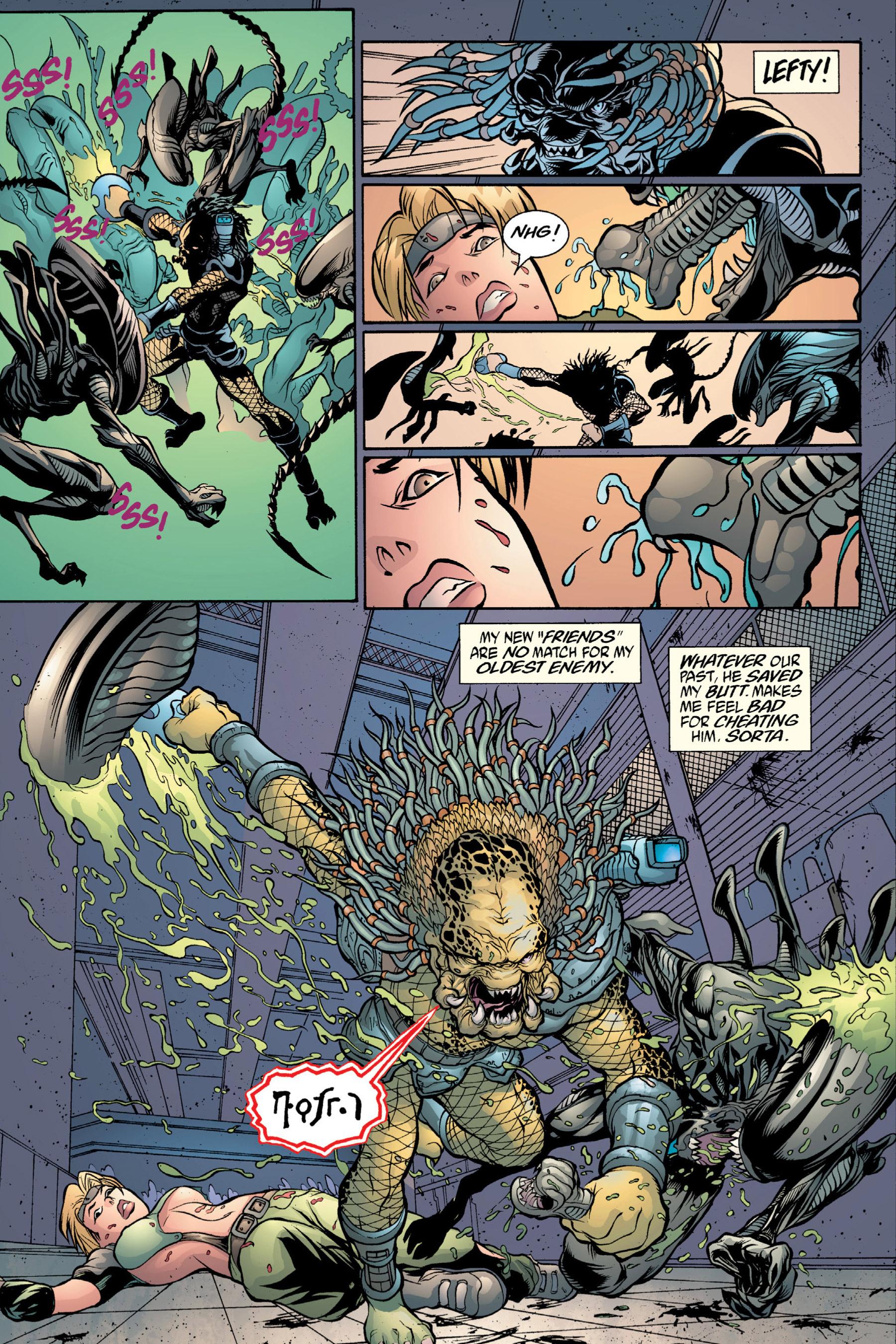 Read online Aliens vs. Predator Omnibus comic -  Issue # _TPB 2 Part 4 - 21