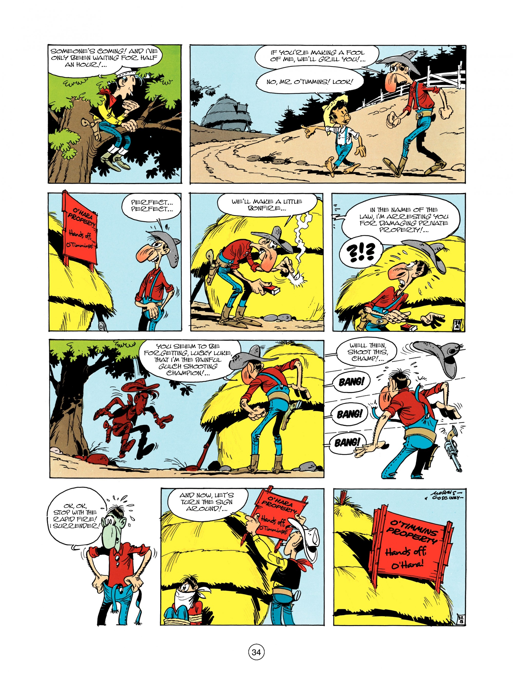 Read online A Lucky Luke Adventure comic -  Issue #12 - 34