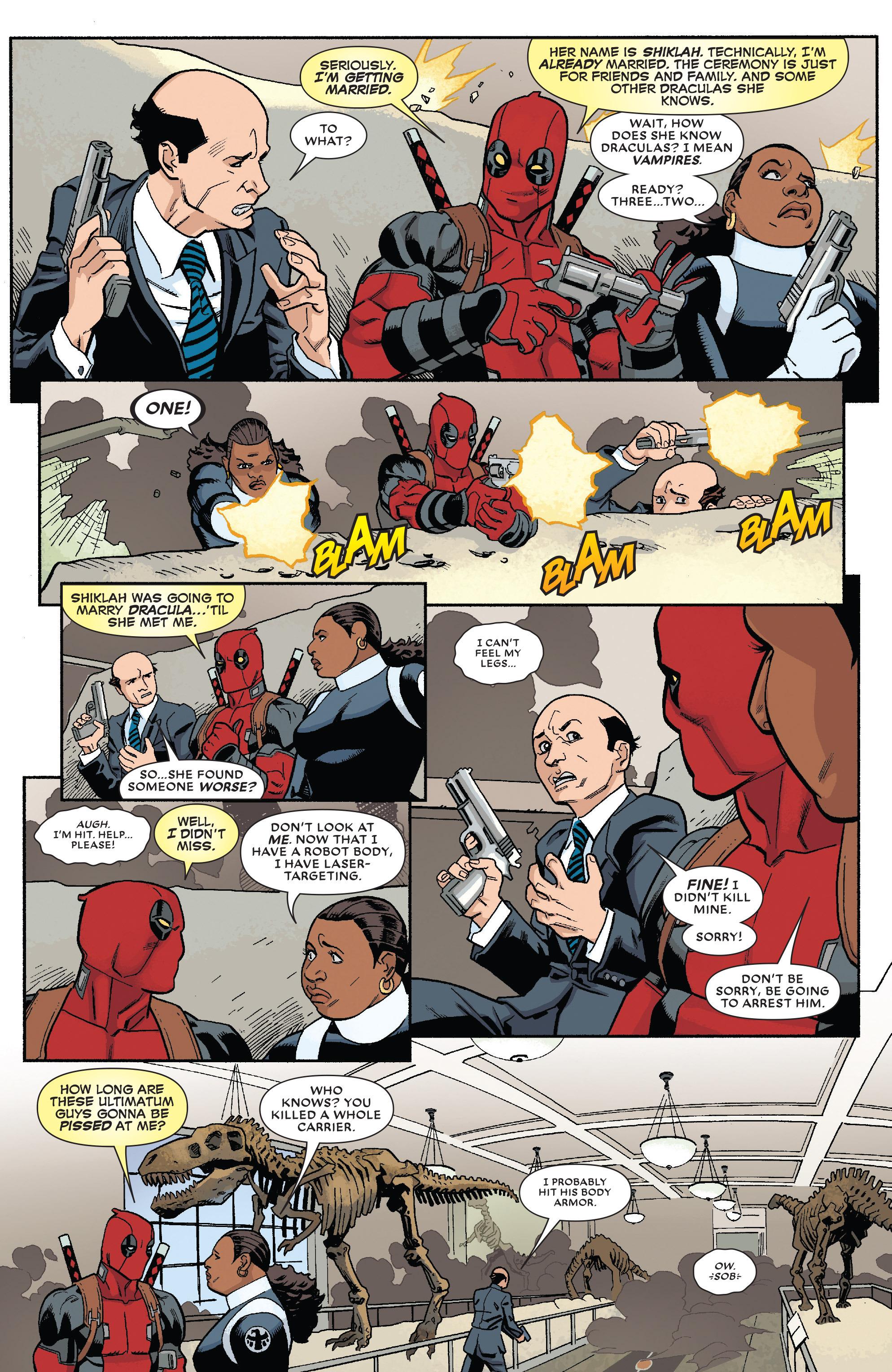 Read online True Believers: The Wedding of Deadpool comic -  Issue # Full - 5