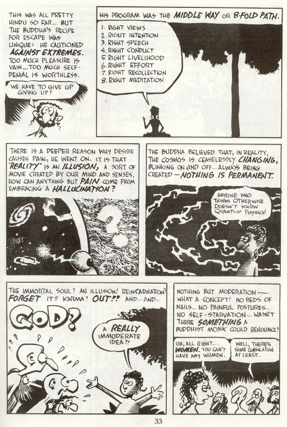 Read online The Cartoon History of the Universe comic -  Issue #8 - 36
