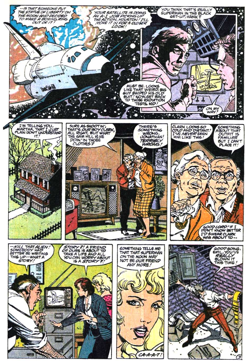 Read online Adventures of Superman (1987) comic -  Issue #465 - 4