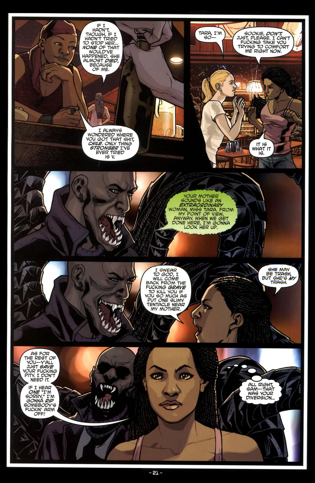 Read online True Blood (2010) comic -  Issue #3 - 23