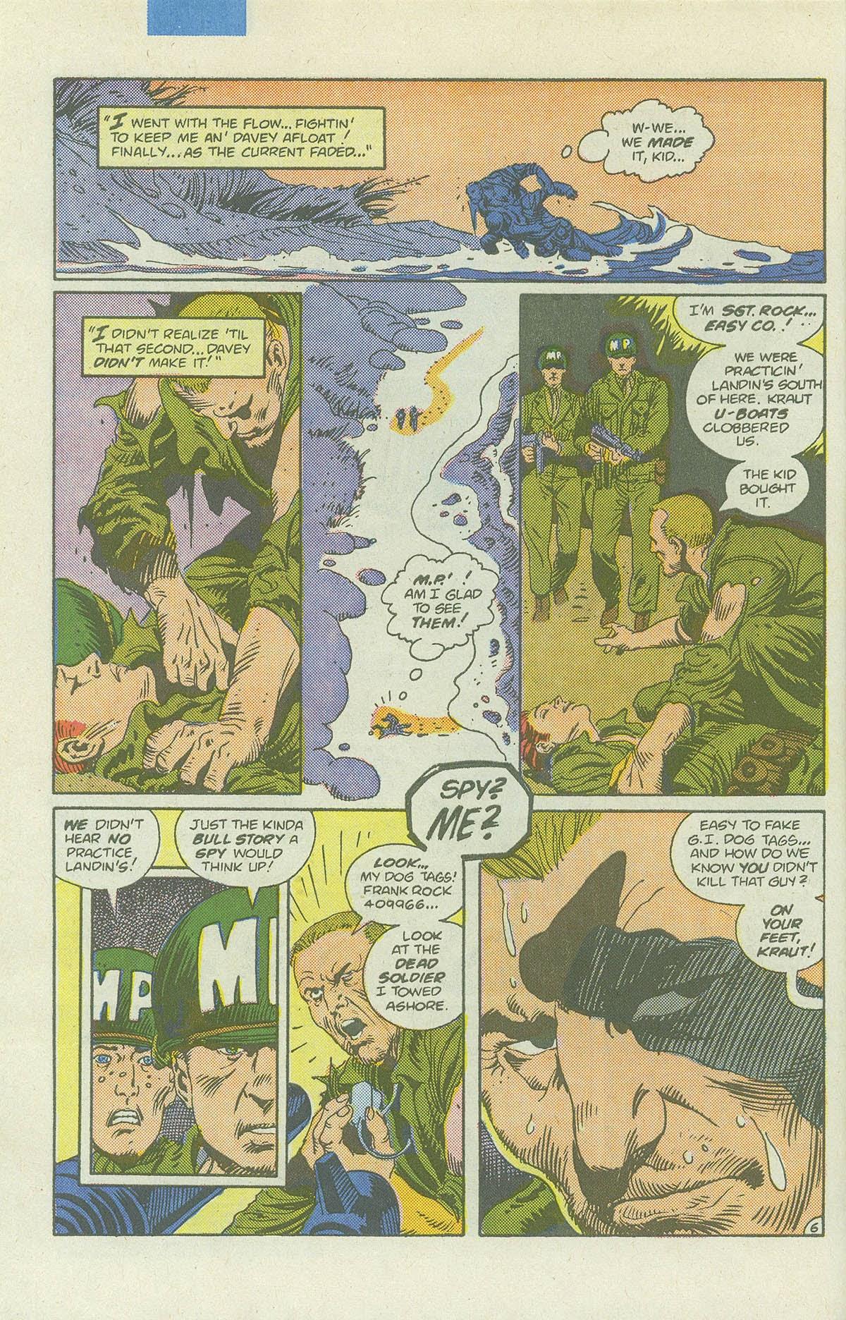 Read online Sgt. Rock comic -  Issue #422 - 9