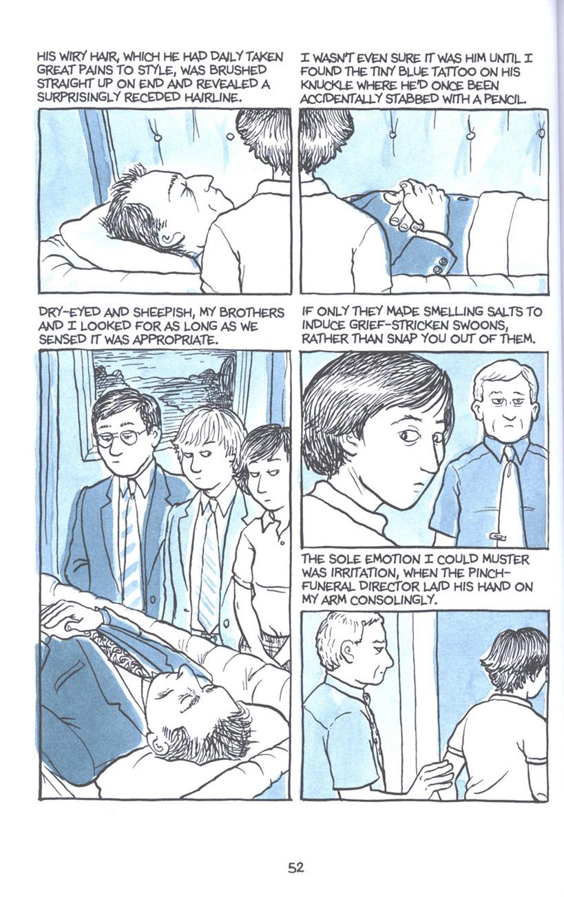 Read online Fun Home: A Family Tragicomic comic -  Issue # TPB - 59