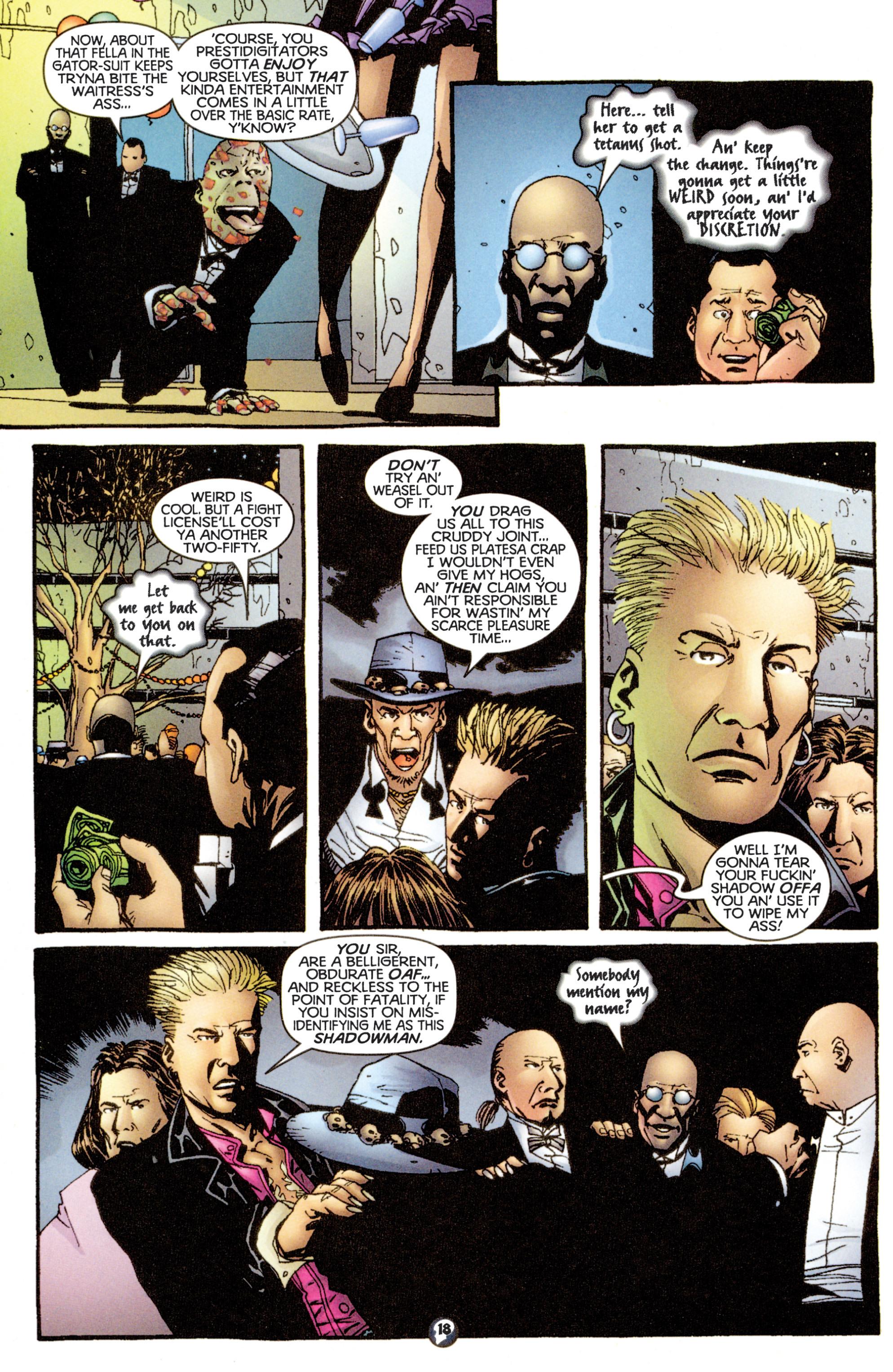 Read online Shadowman (1997) comic -  Issue #13 - 15