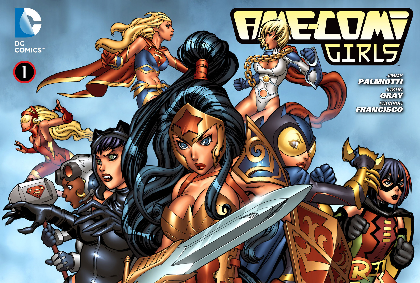 Read online Ame-Comi Girls comic -  Issue #1 - 1