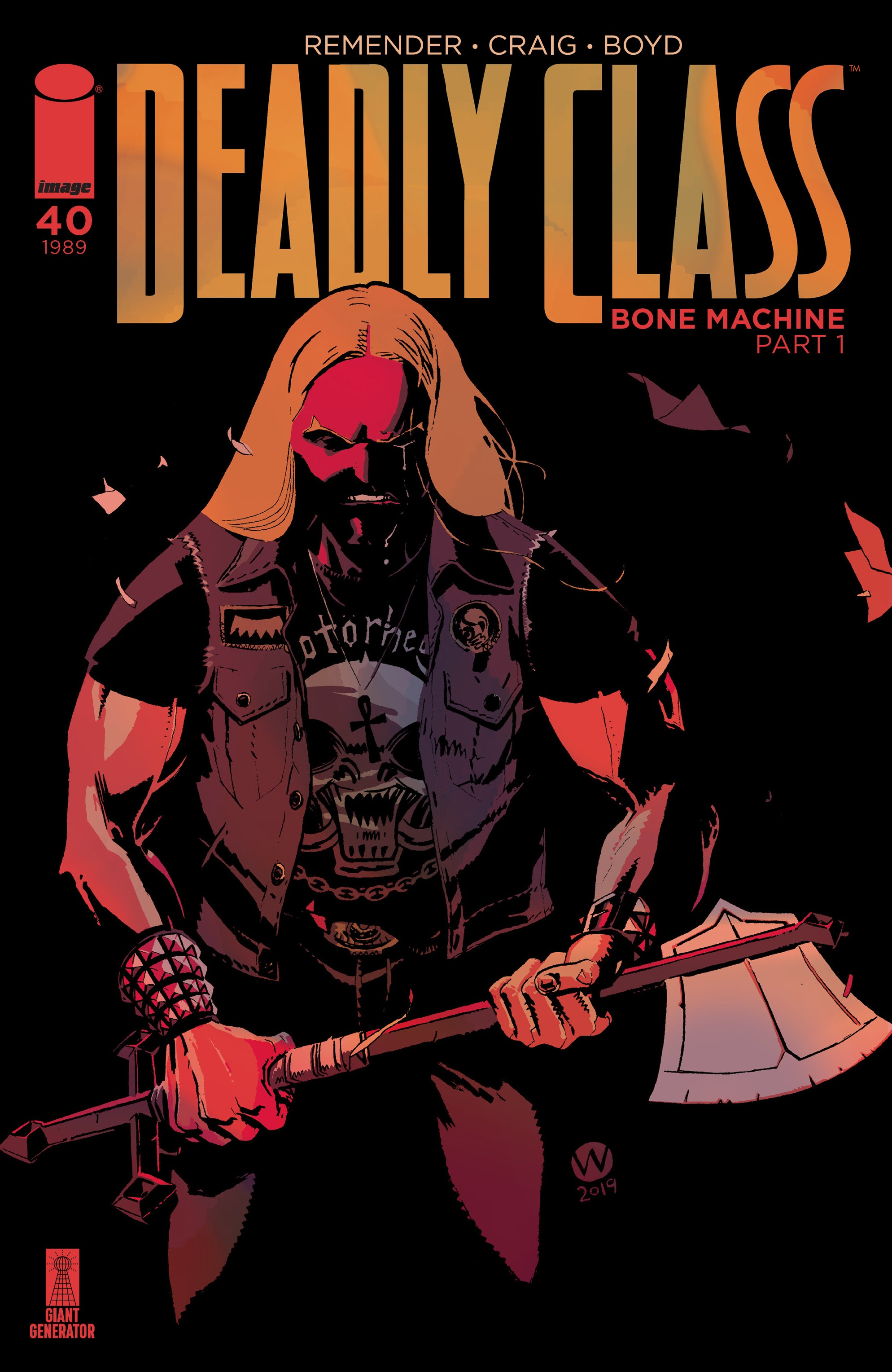 Deadly Class 40 Page 1