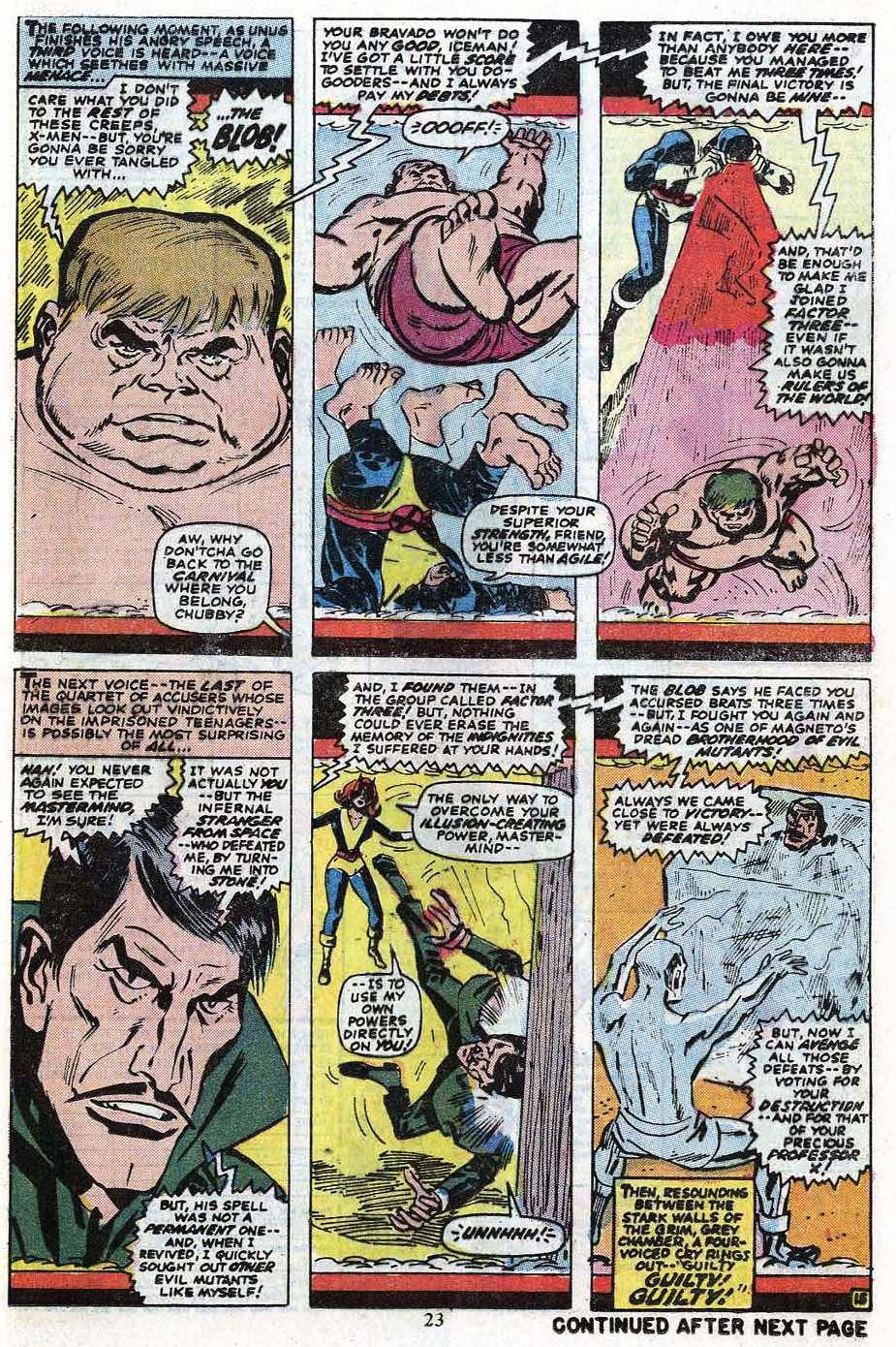 Read online Uncanny X-Men (1963) comic -  Issue #85 - 25