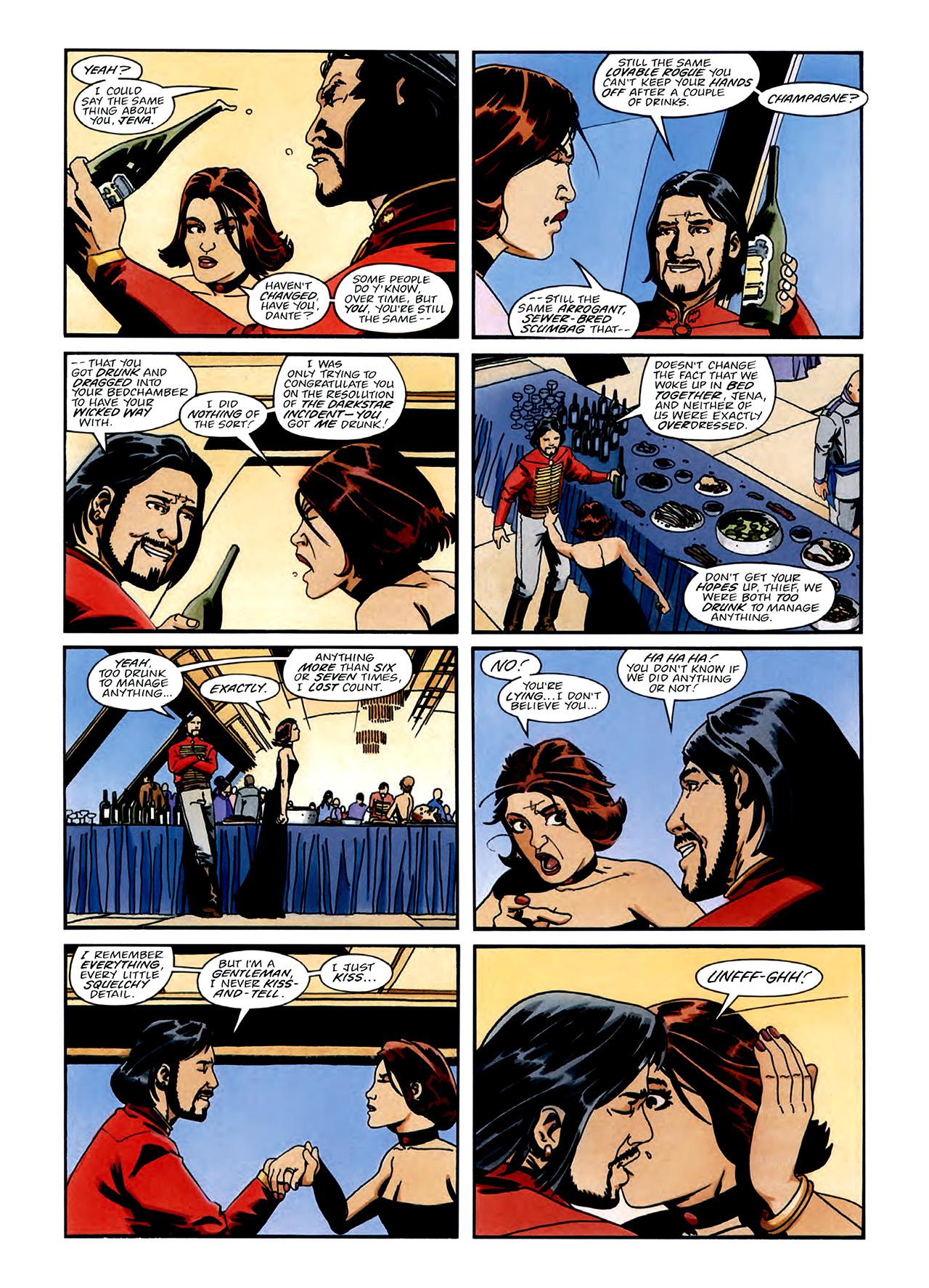 Read online Nikolai Dante comic -  Issue # TPB 3 - 8