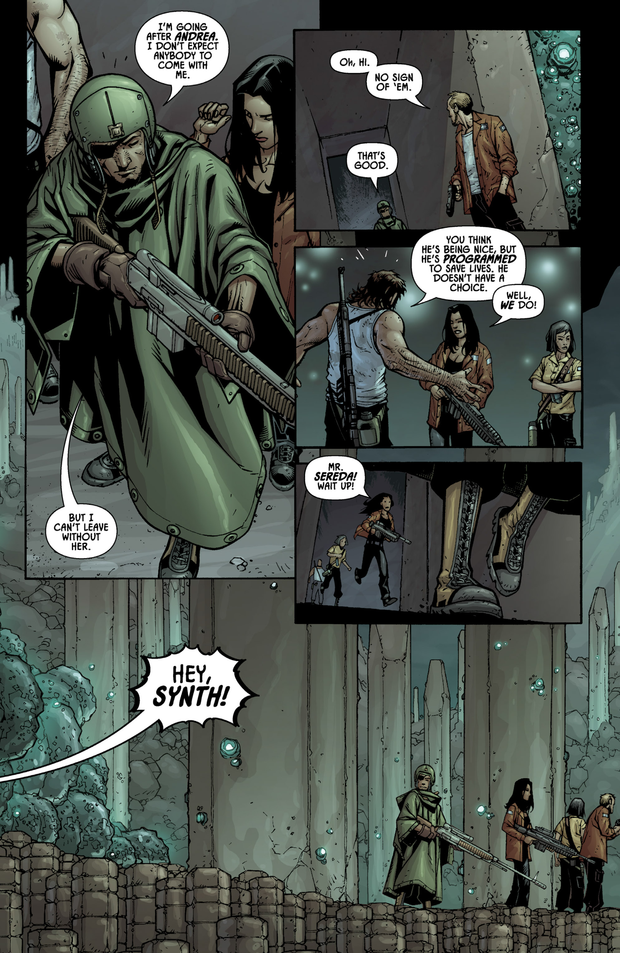 Read online Aliens (2009) comic -  Issue # TPB - 77