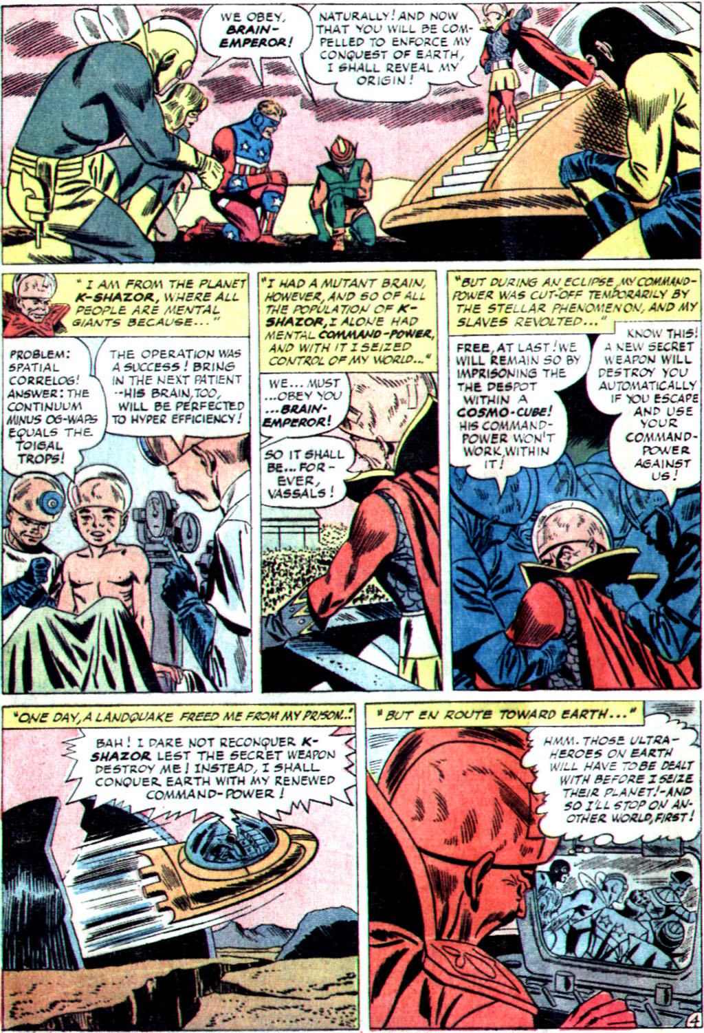 The Mighty Crusaders (1965) Issue #1 #1 - English 16