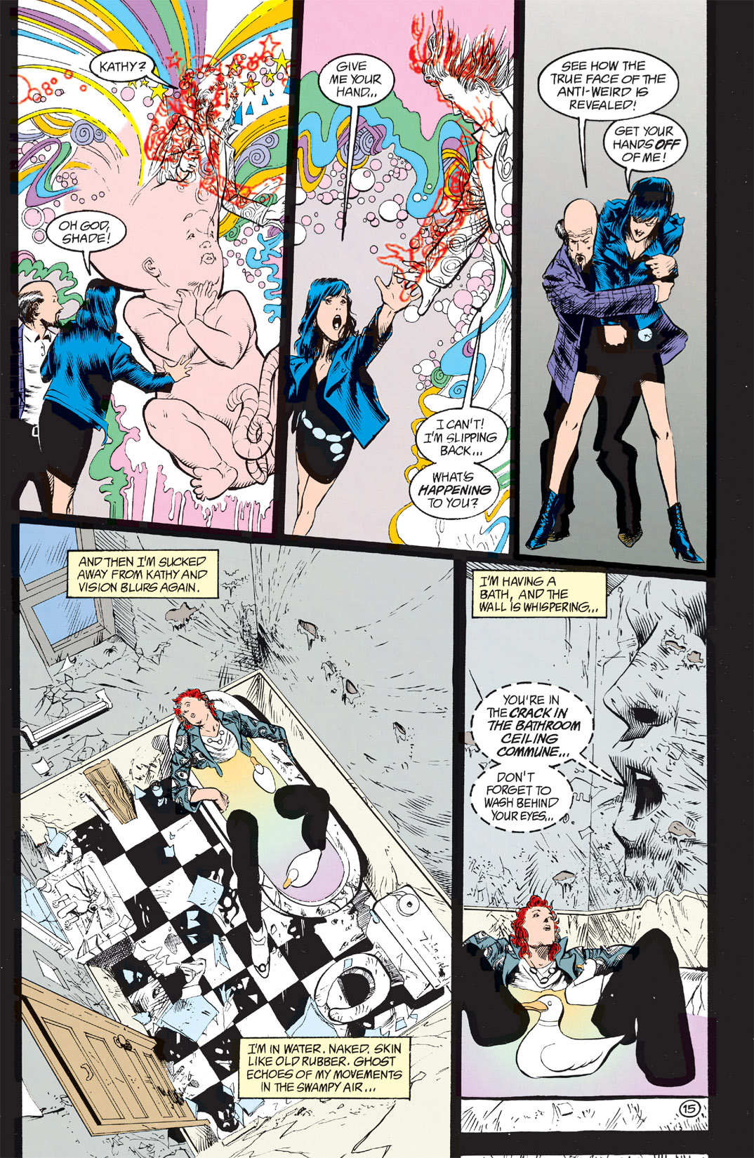 Read online Shade, the Changing Man comic -  Issue #9 - 12