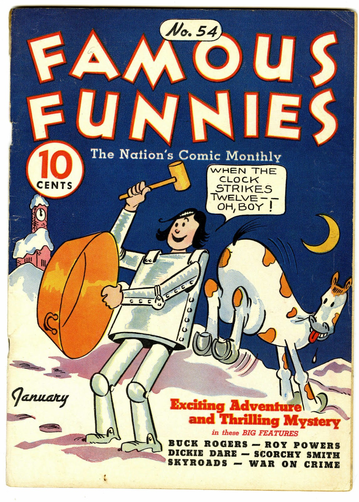 Read online Famous Funnies comic -  Issue #54 - 1