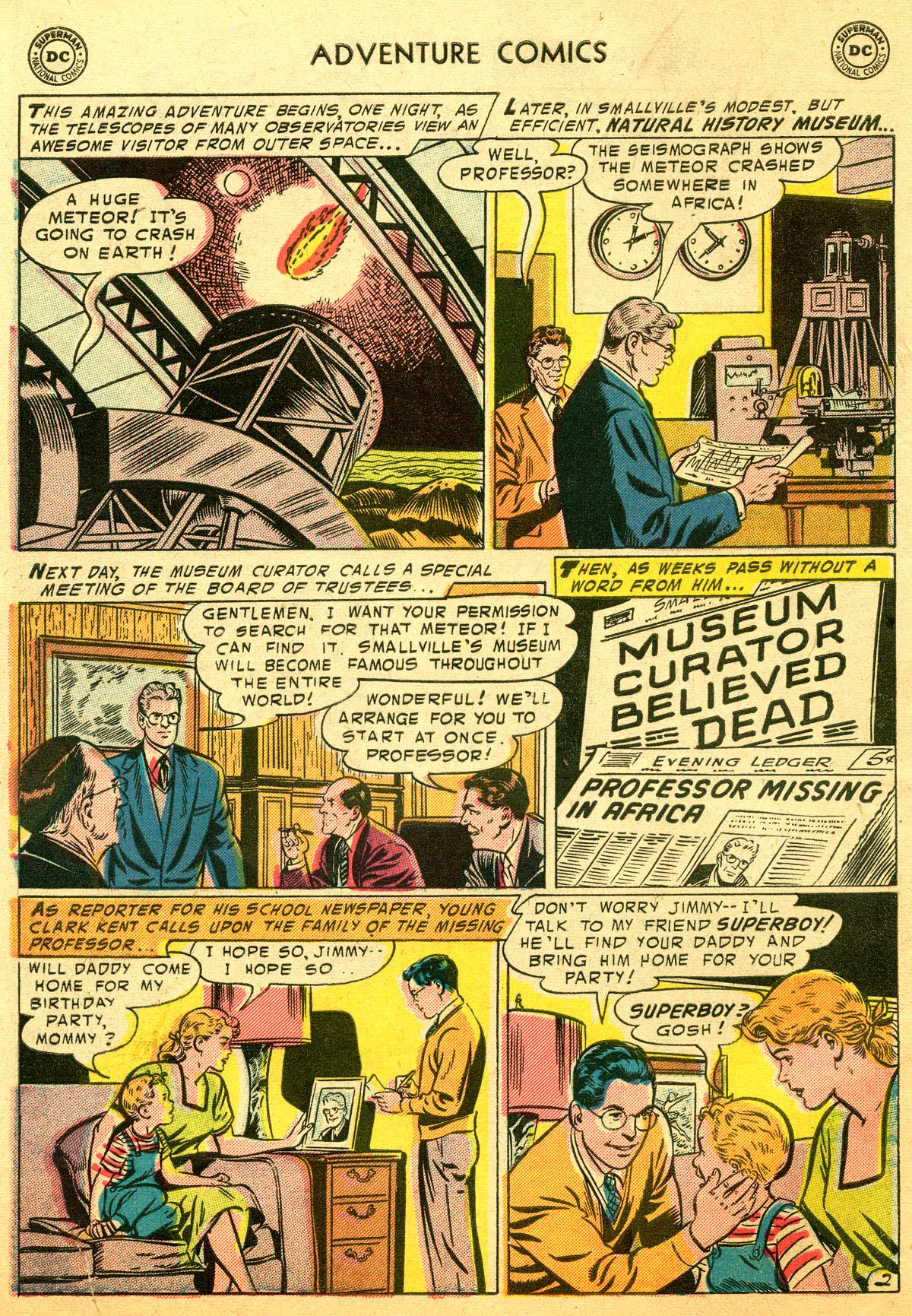 Read online Adventure Comics (1938) comic -  Issue #216 - 4
