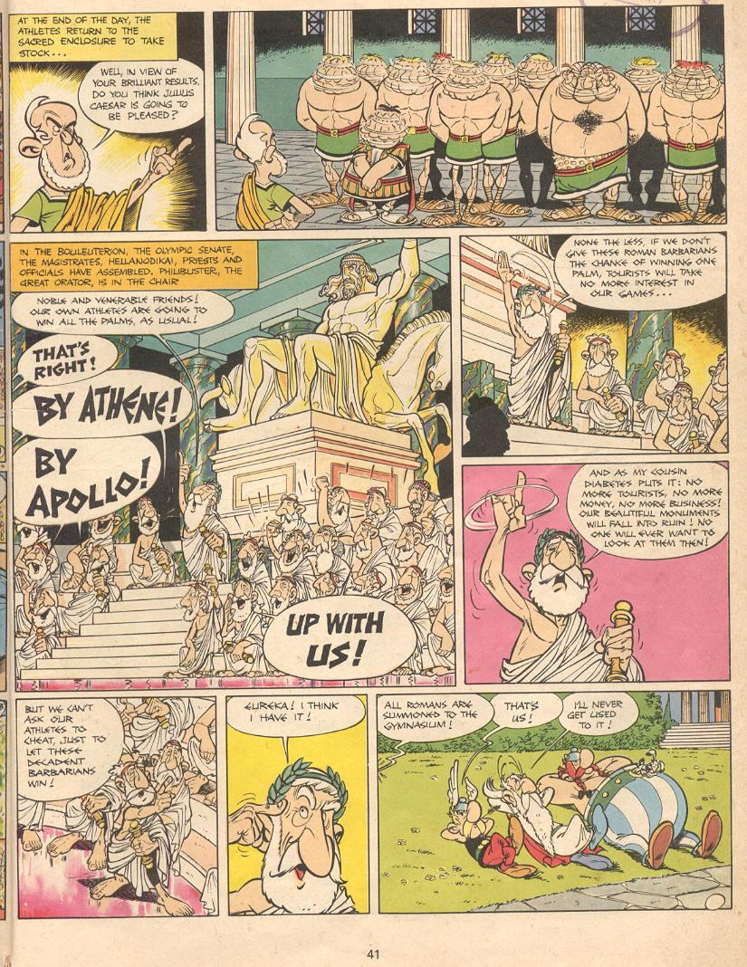 Read online Asterix comic -  Issue #12 - 38