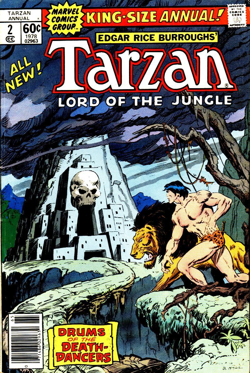 Read online Tarzan (1977) comic -  Issue # _Annual 2 - 1