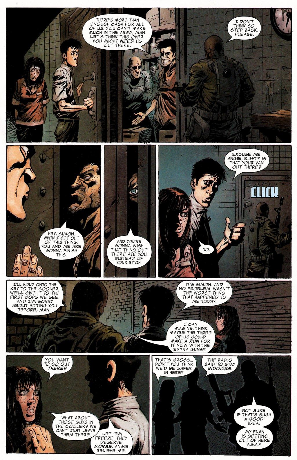 Read online Zombie (2006) comic -  Issue #1 - 22