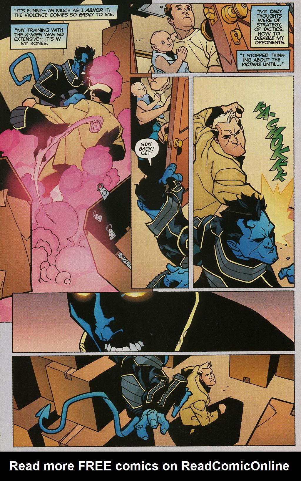 Read online Nightcrawler (2002) comic -  Issue #2 - 17