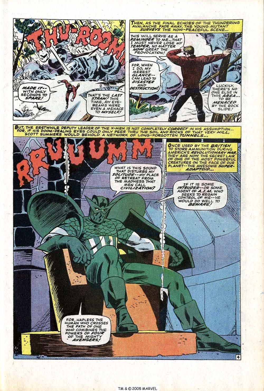 Read online Uncanny X-Men (1963) comic -  Issue #77 - 7