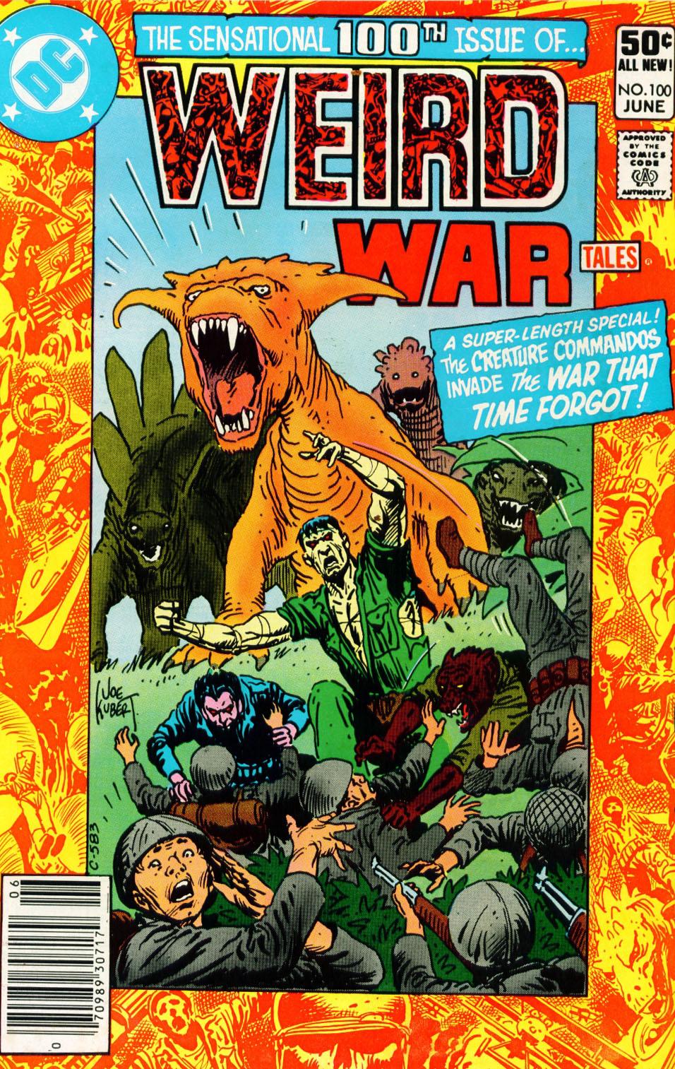 Weird War Tales (1971) issue 100 - Page 1