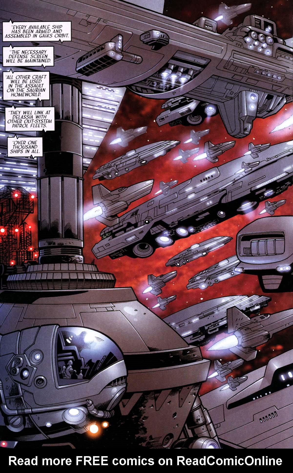 Read online Sigil (2000) comic -  Issue #24 - 25