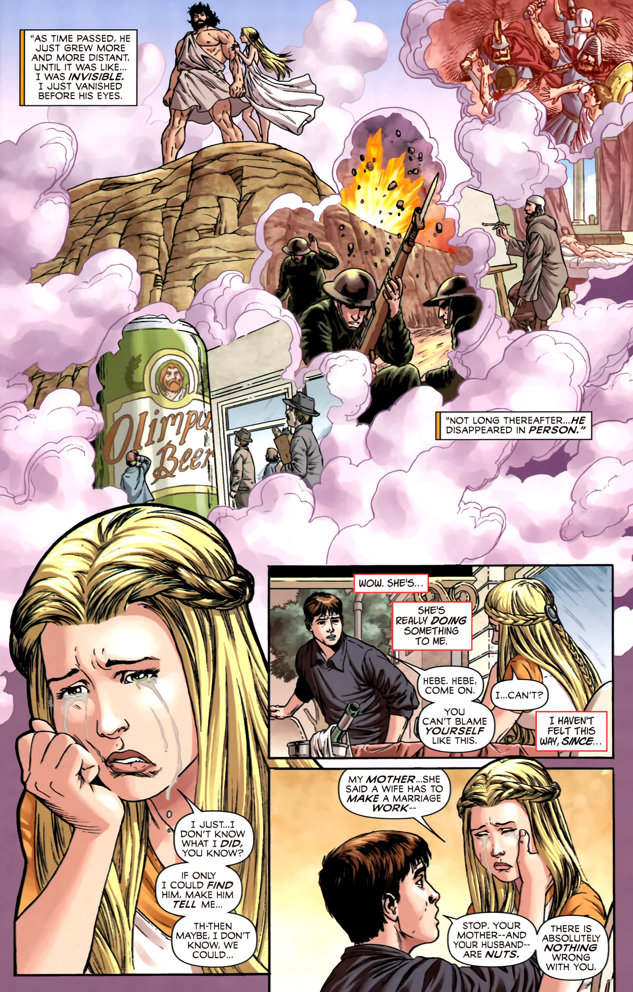Read online Assault on New Olympus Prologue comic -  Issue #Assault on New Olympus Prologue Full - 14