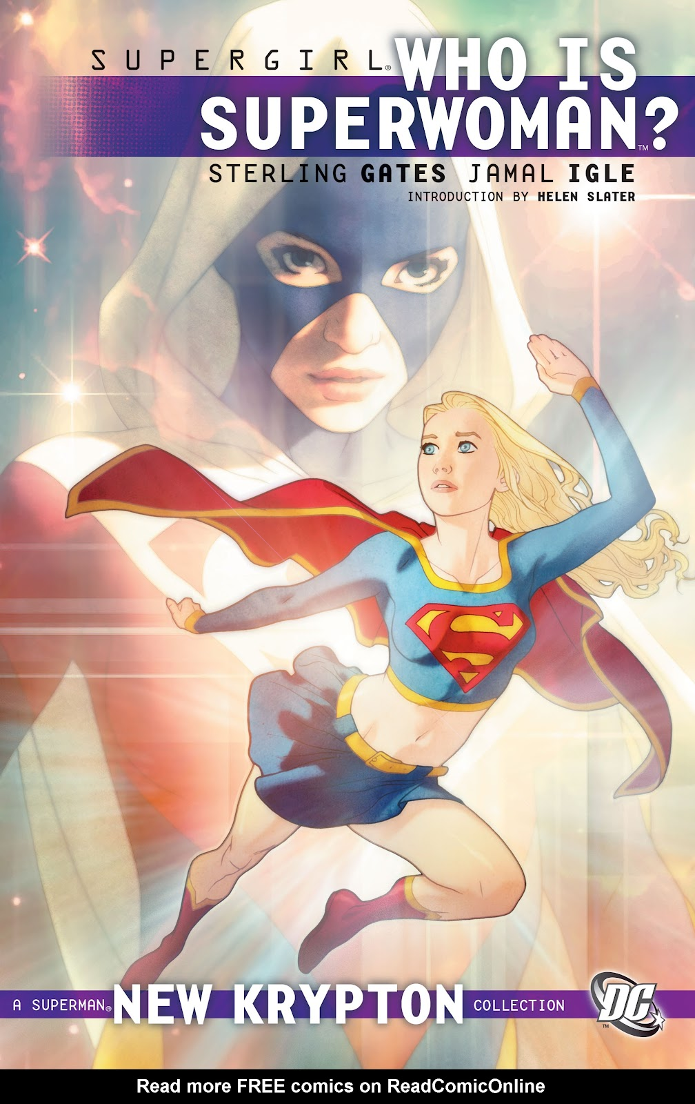 Supergirl: Who is Superwoman? issue Full - Page 1