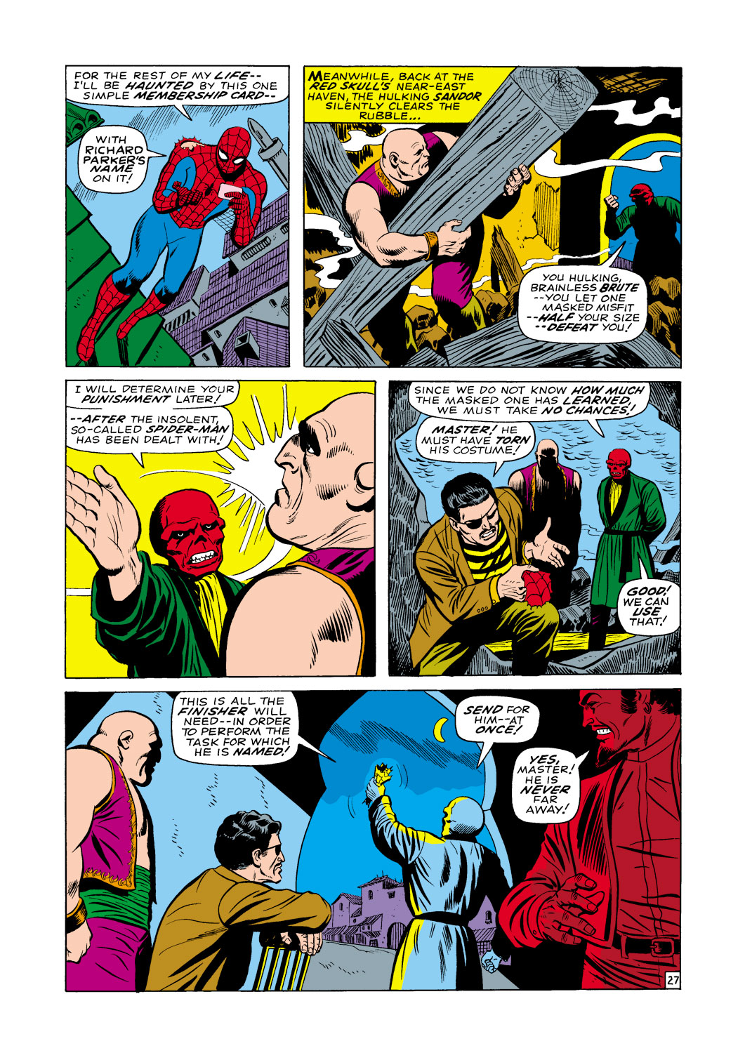 The Amazing Spider-Man (1963) _Annual_5 Page 27