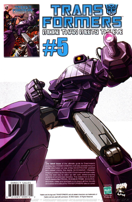 Read online Transformers Armada comic -  Issue #12 - 33