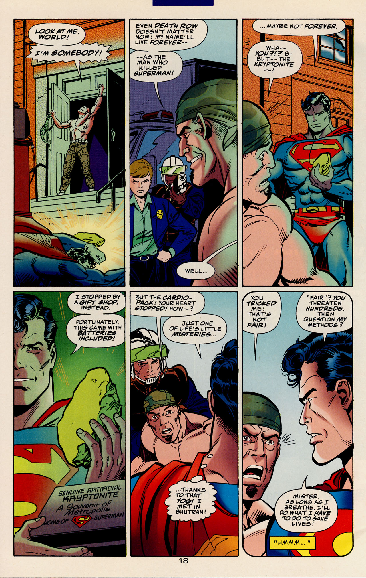 Read online Action Comics (1938) comic -  Issue #728 - 25