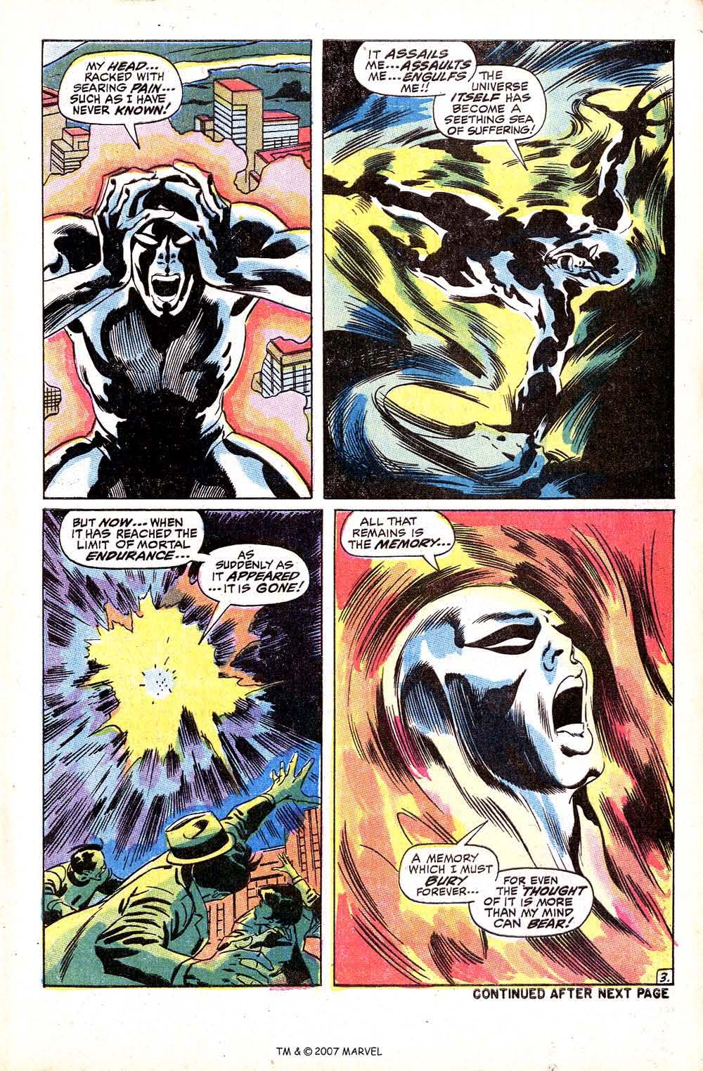 Read online Silver Surfer (1968) comic -  Issue #8 - 5