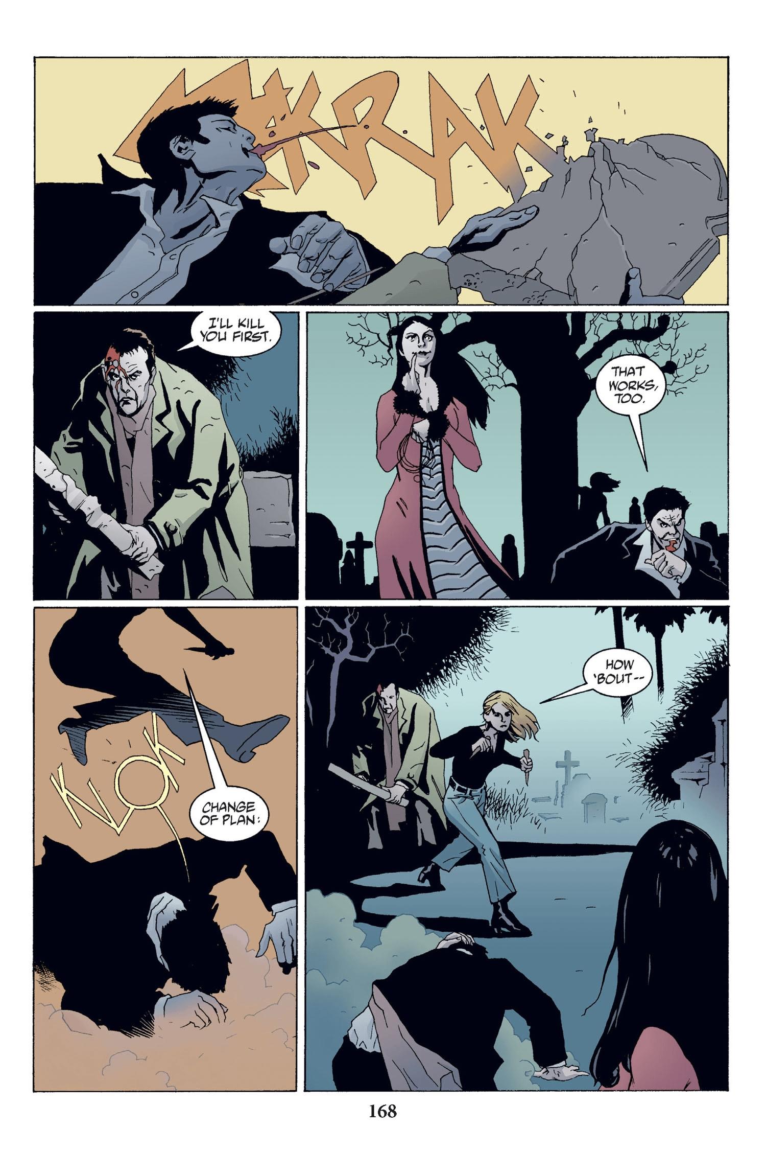 Read online Buffy the Vampire Slayer: Omnibus comic -  Issue # TPB 2 - 162