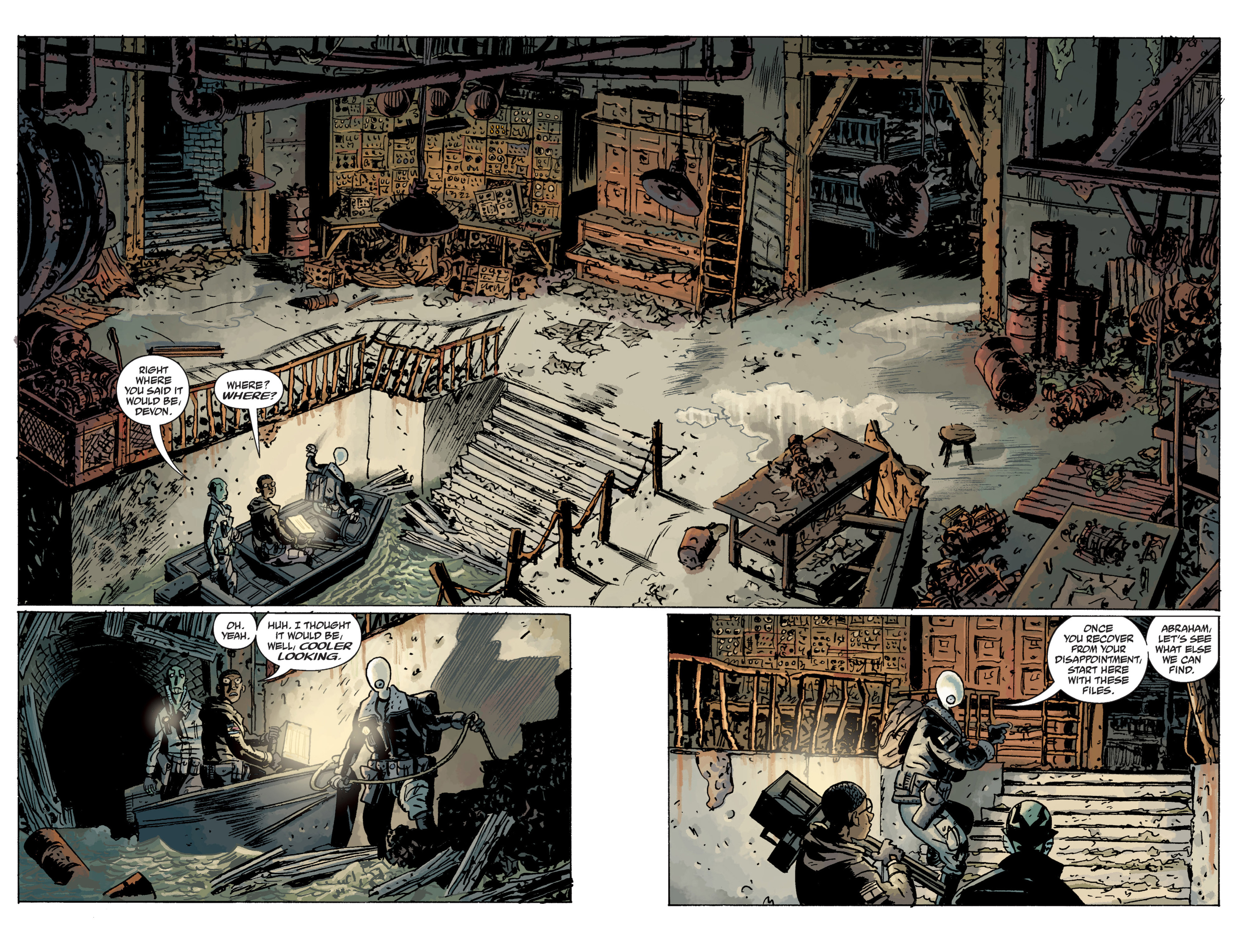 Read online B.P.R.D. (2003) comic -  Issue # TPB 11 - 10