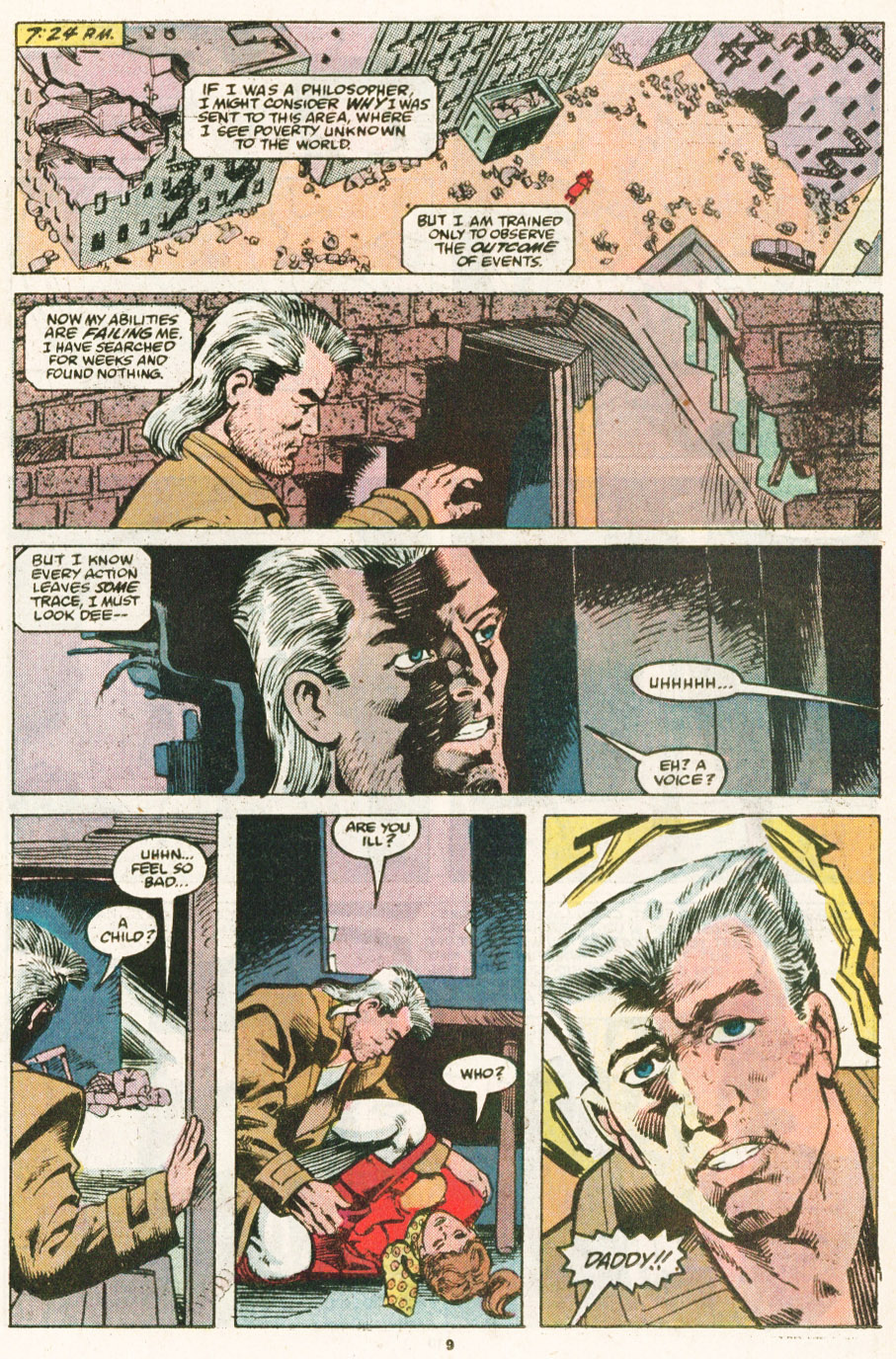 Read online Justice (1986) comic -  Issue #6 - 10