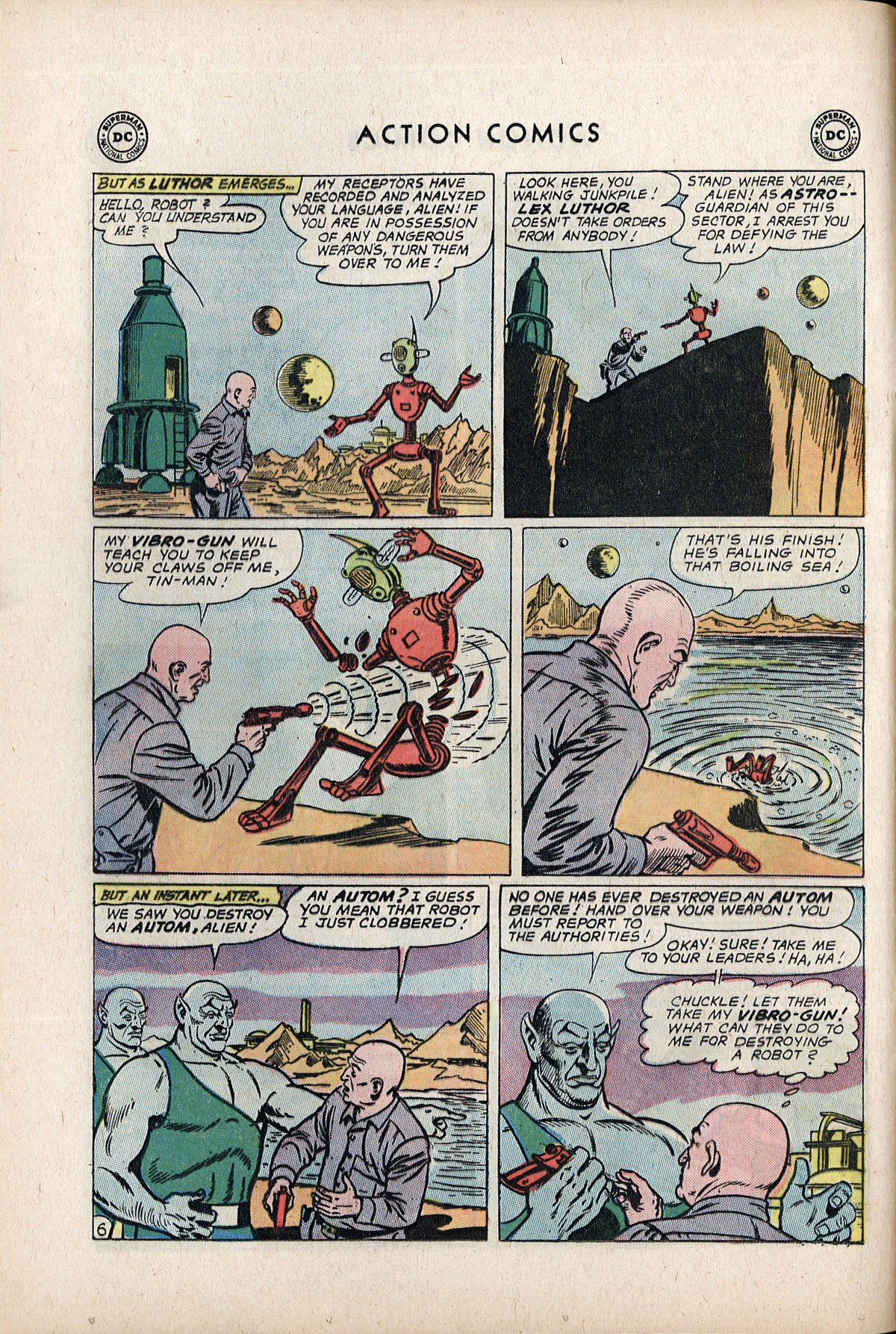 Read online Action Comics (1938) comic -  Issue #292 - 8