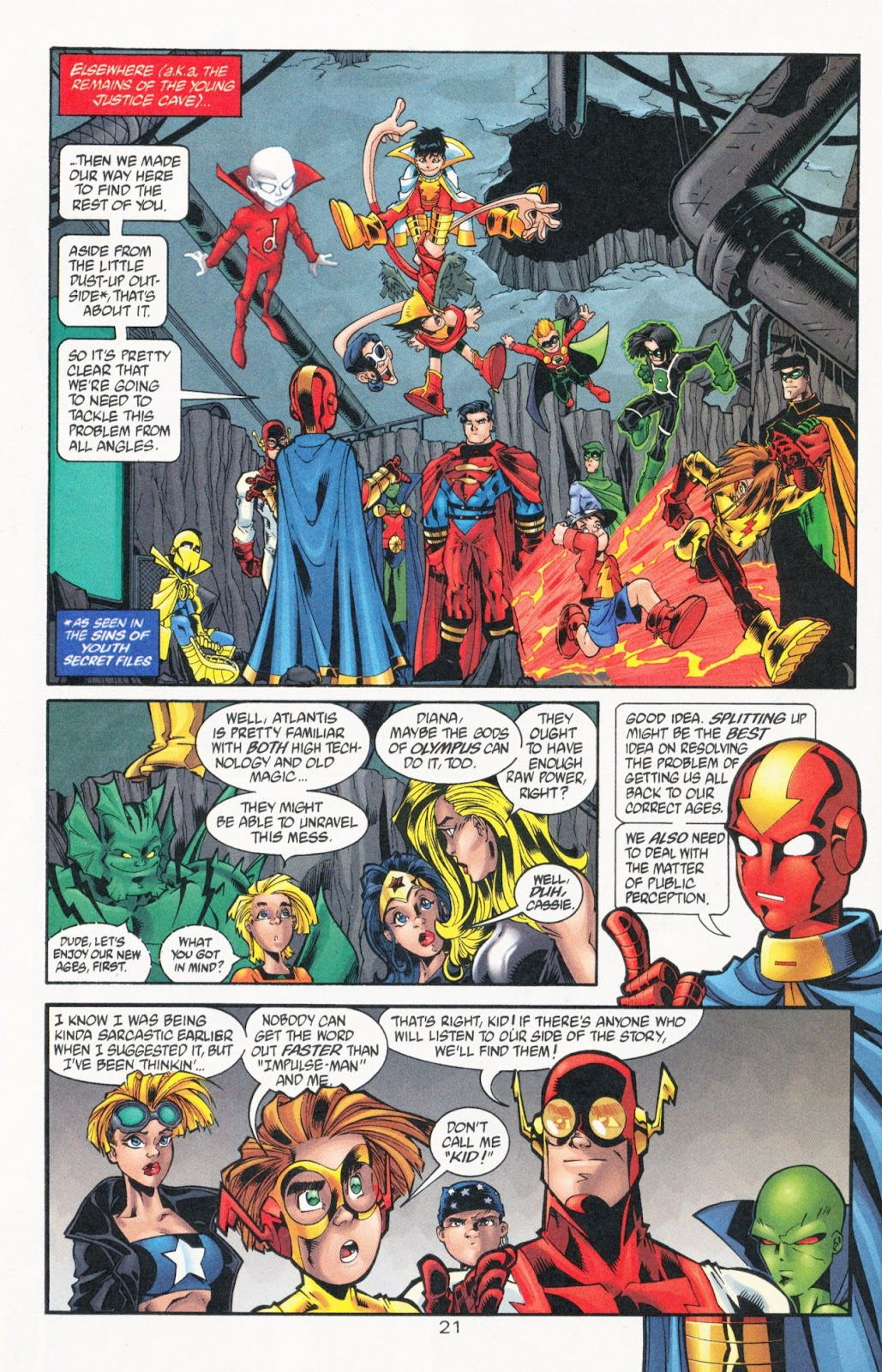 Sins of Youth issue JLA Jr. - Page 32