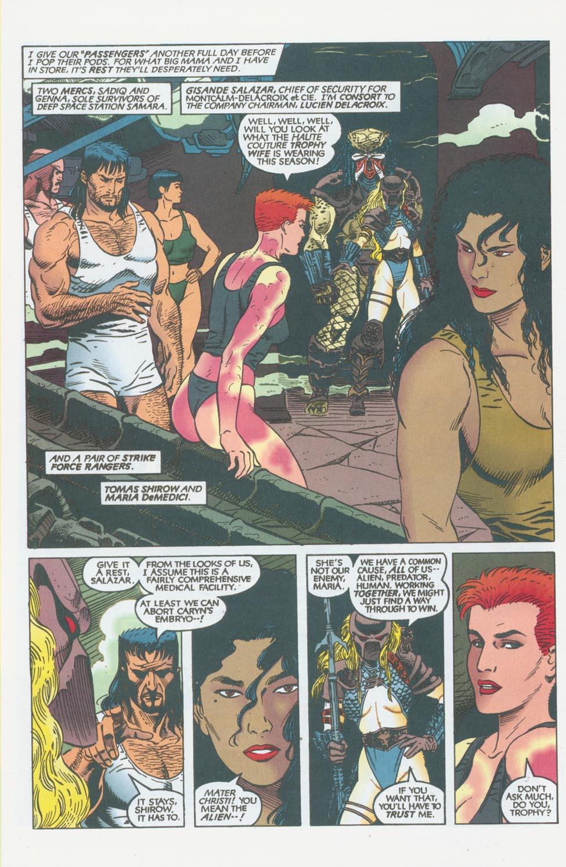Read online Aliens/Predator: The Deadliest of the Species comic -  Issue #10 - 7