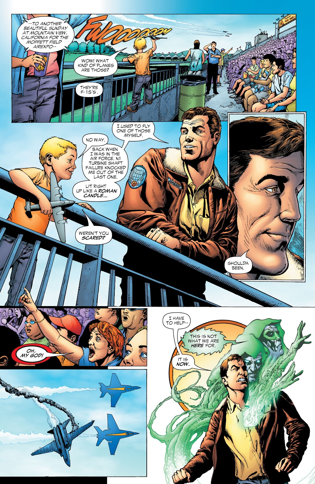 Read online Green Lantern by Geoff Johns comic -  Issue # TPB 1 (Part 1) - 7