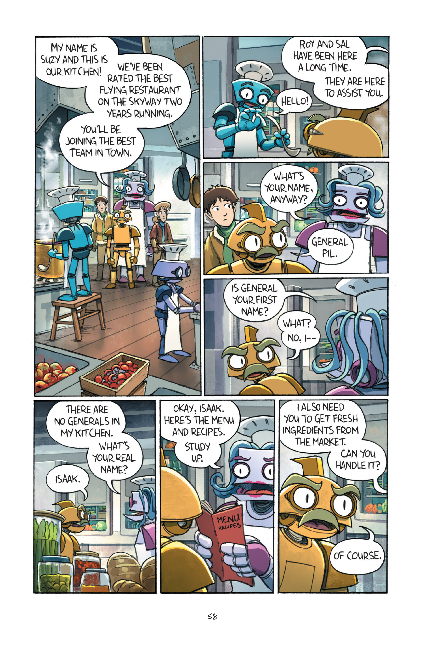 Read online Amulet comic -  Issue #7 - 60