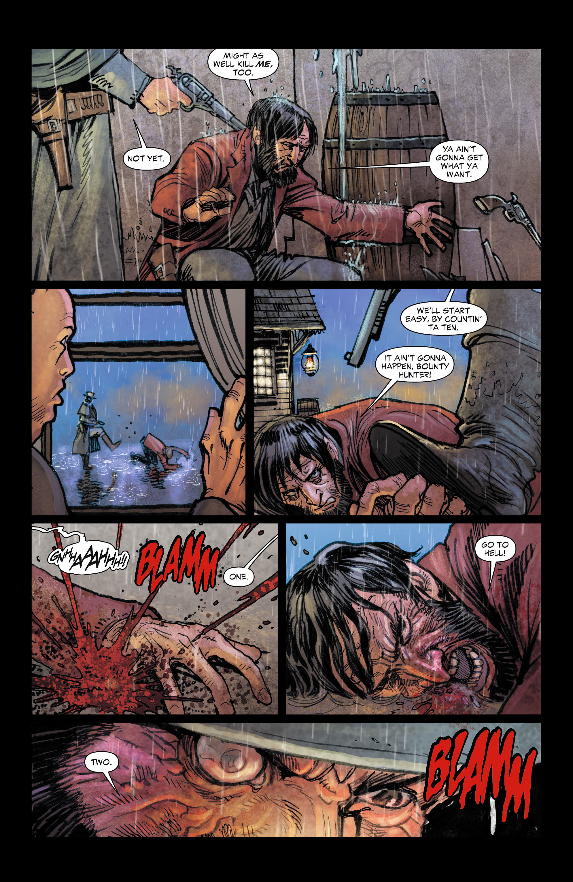 Read online All-Star Western (2011) comic -  Issue #4 - 6