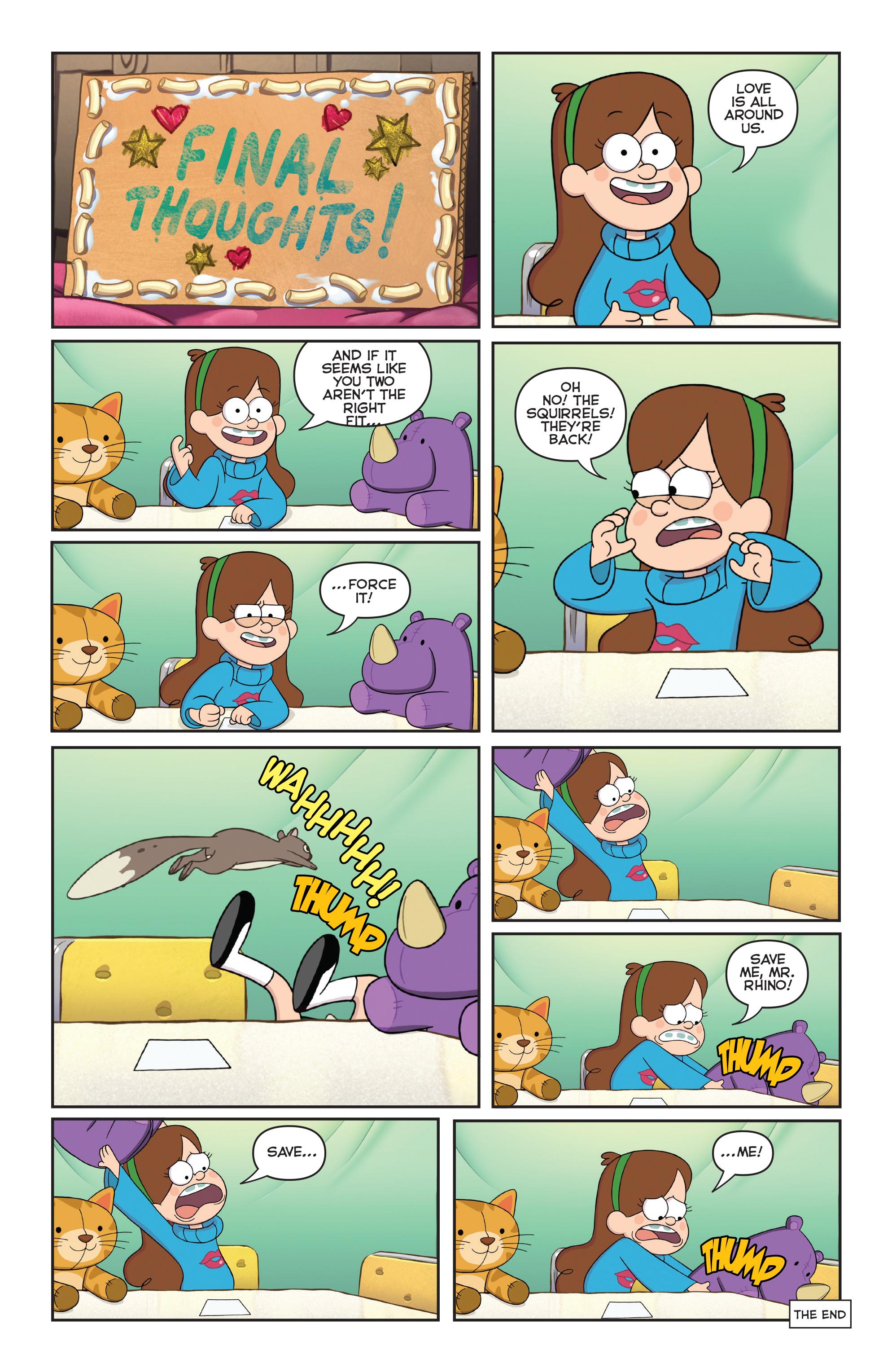 Read online Disney Gravity Falls Shorts Cinestory Comic comic -  Issue #1 - 20