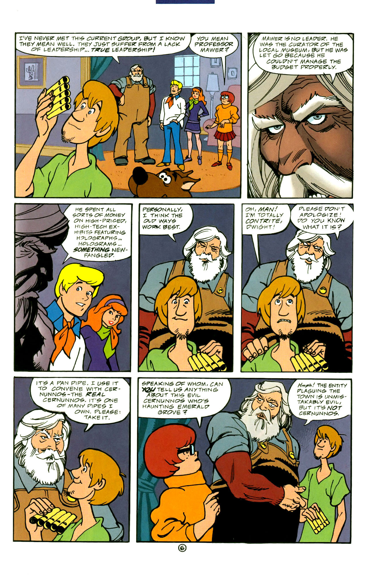 Read online Scooby-Doo (1997) comic -  Issue #4 - 7