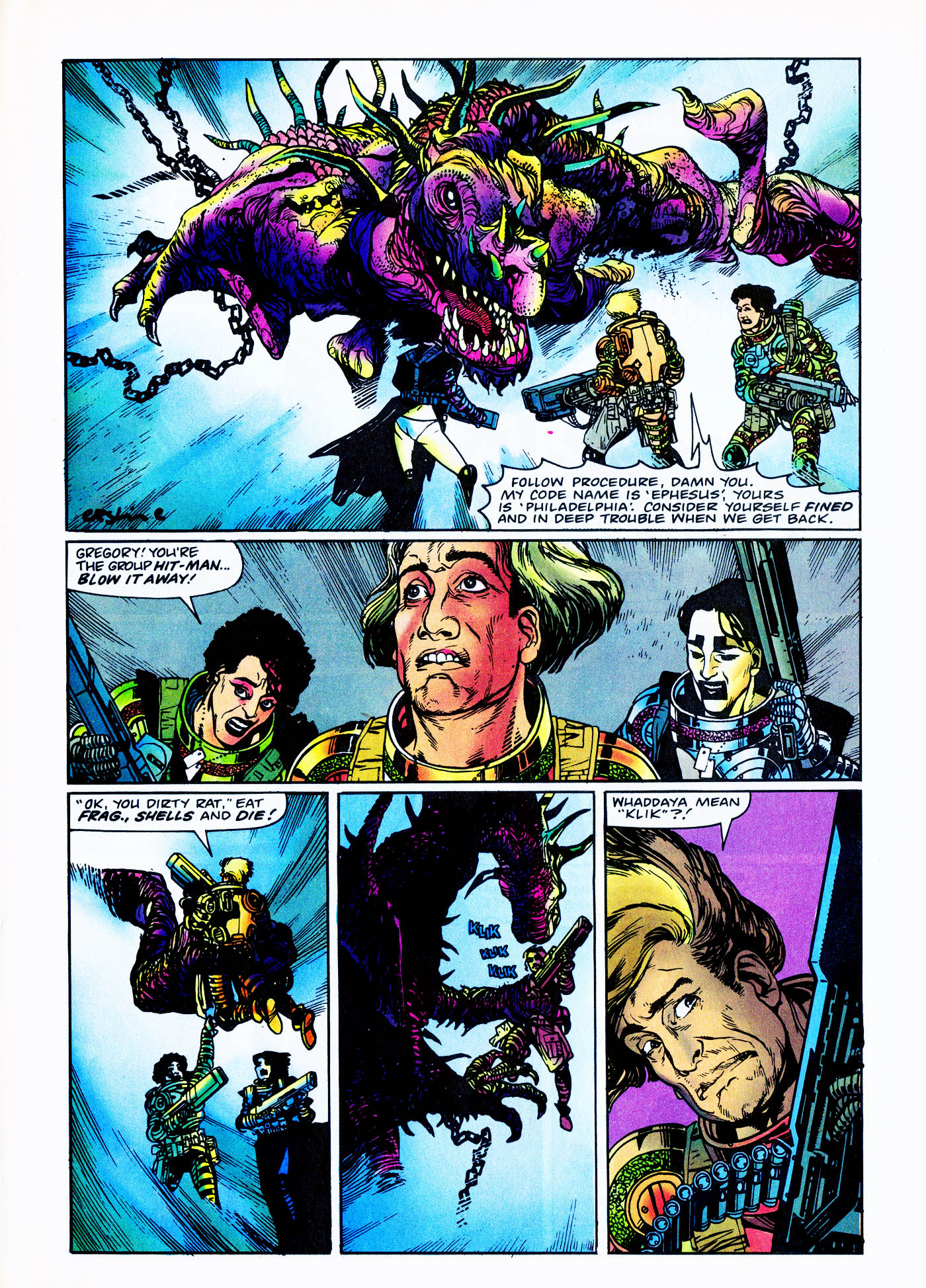 Read online Overkill comic -  Issue #2 - 33