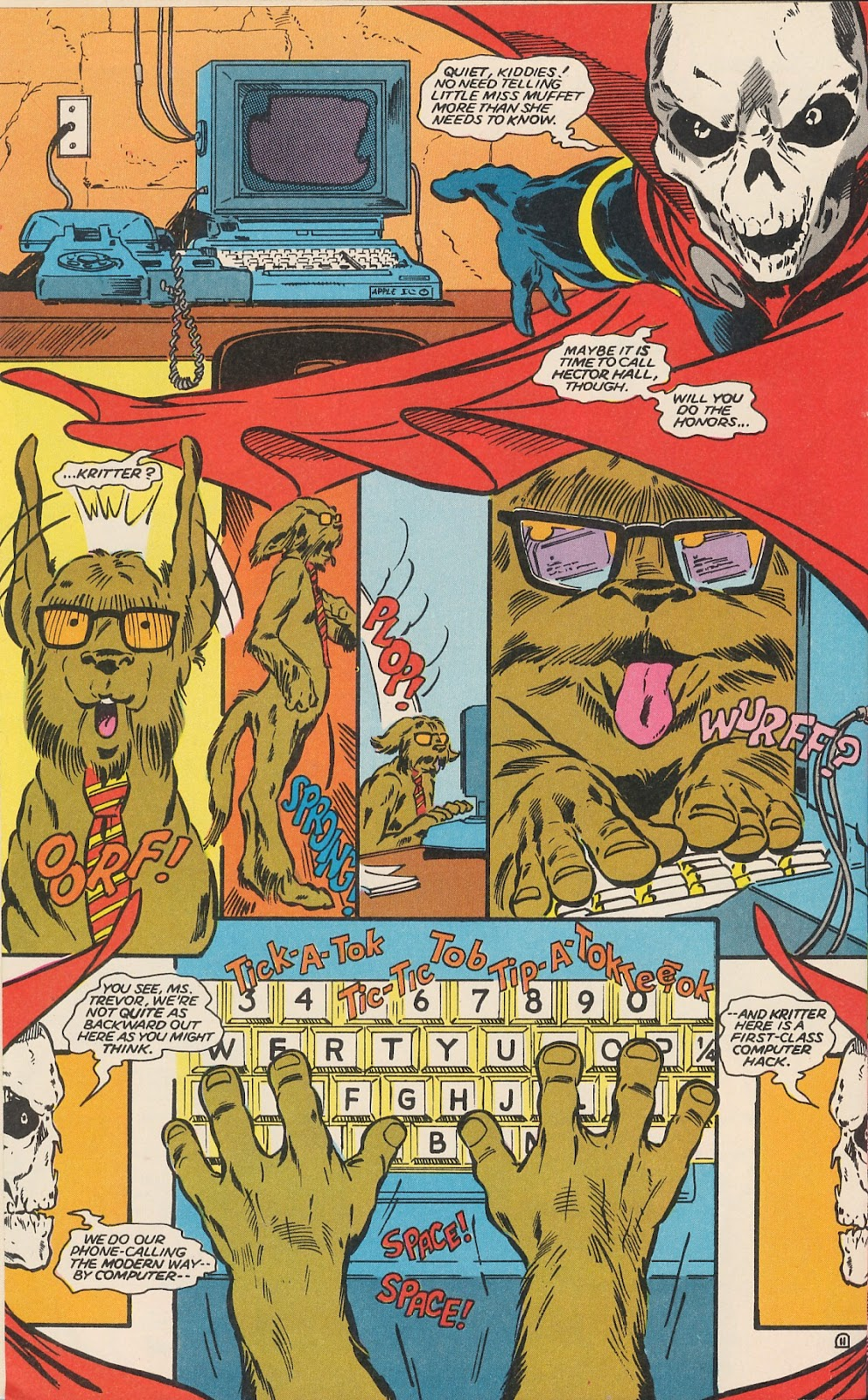 Infinity Inc. (1984) issue 17 - Page 15