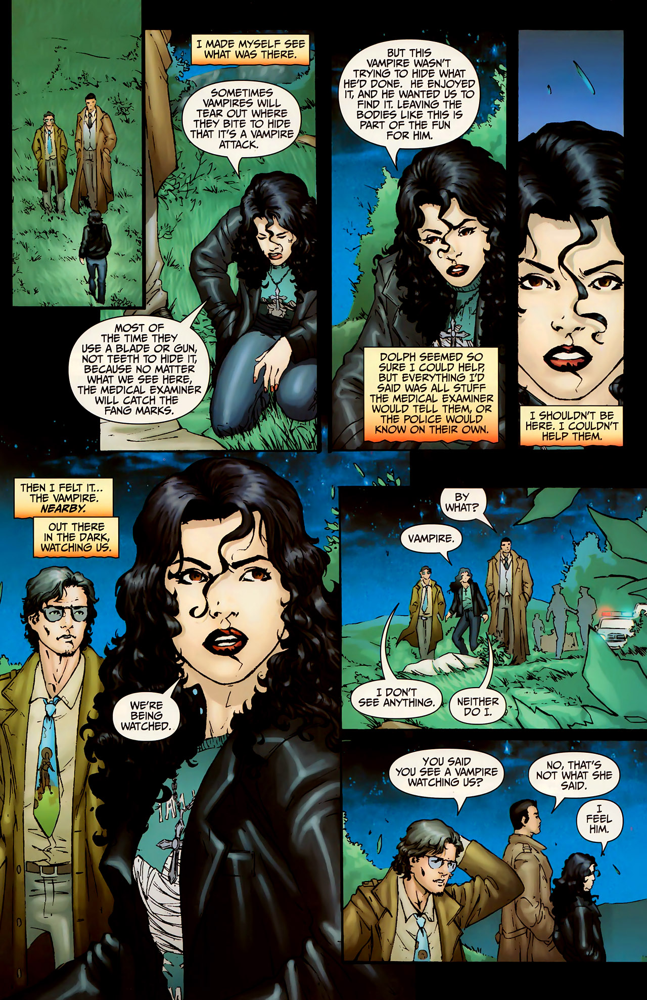 Read online Anita Blake, Vampire Hunter: The First Death comic -  Issue #1 - 9