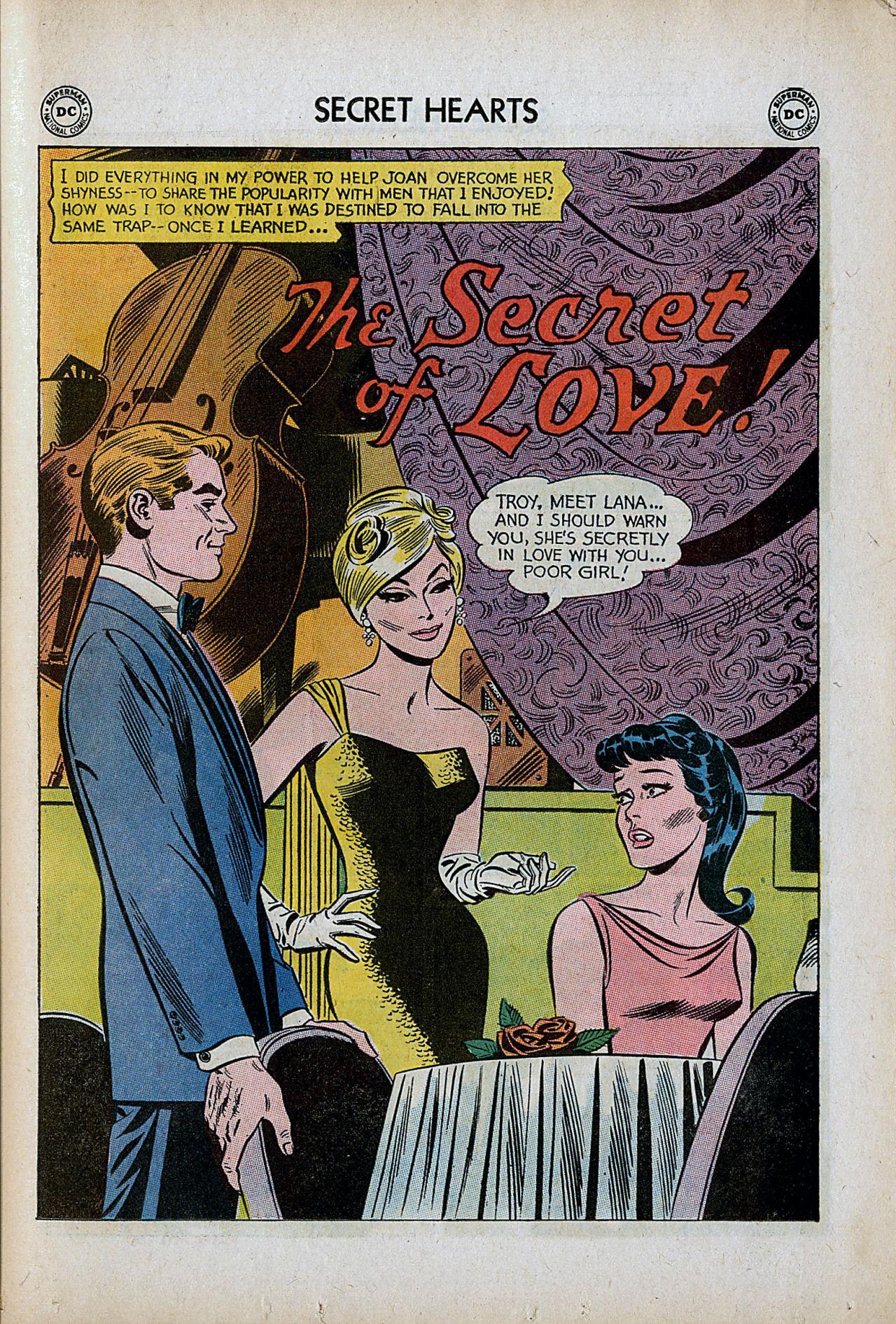 Read online Secret Hearts comic -  Issue #86 - 27