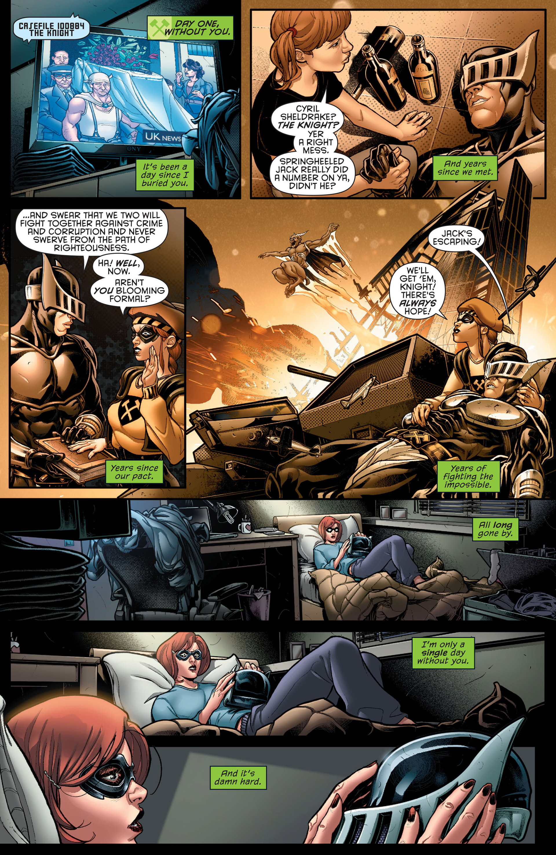 Read online Batman Incorporated (2012) comic -  Issue # _Special 1 - 11