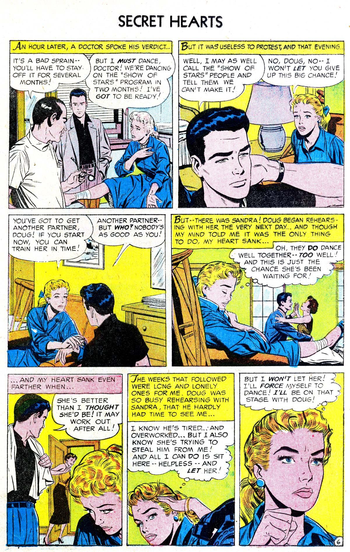 Read online Secret Hearts comic -  Issue #38 - 15