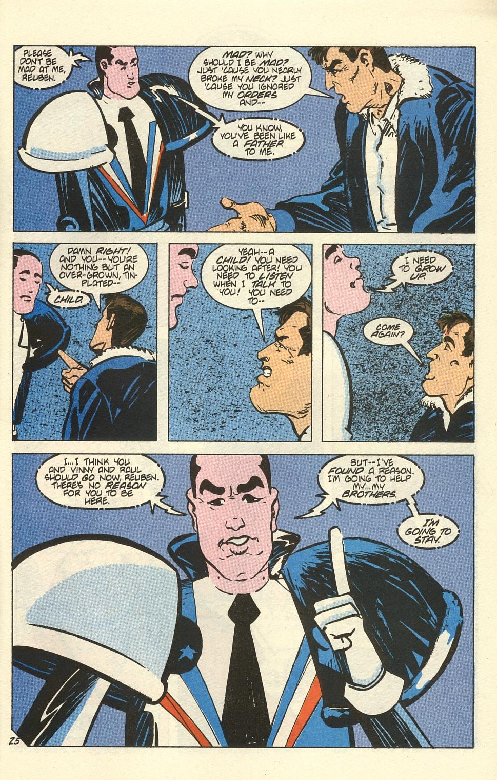 Read online American Flagg! comic -  Issue #41 - 31